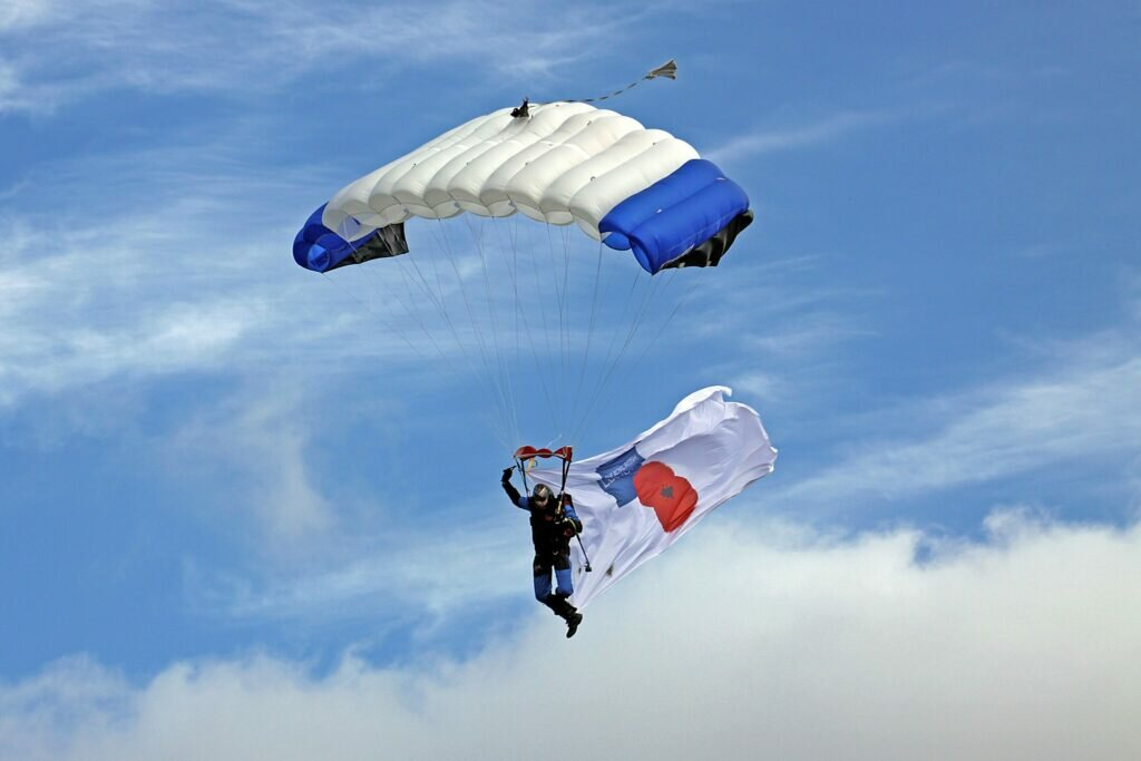 The Parachute Team Supporting the Royal British Legion