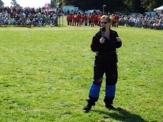 Rachel Organ of The Parachute Display Team